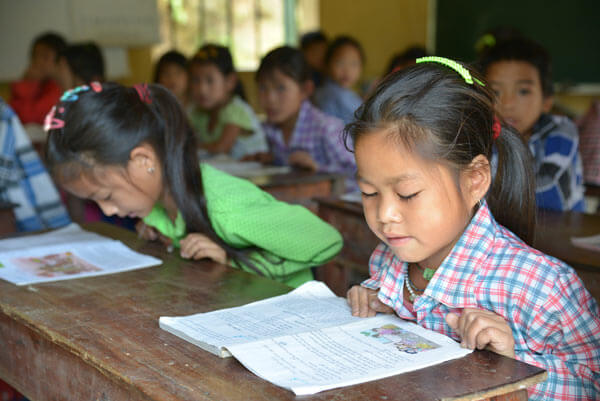 With the Plan sponsorships, Piepenbrock promotes the educational opportunities for children in Laos and Vietnam.